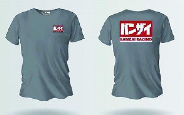バンザイ Tシャツ (グレー/BREGR)