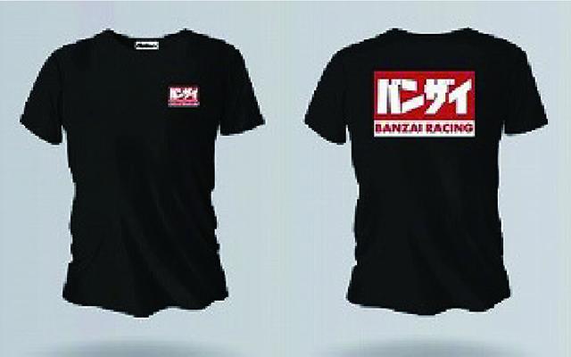 バンザイ Tシャツ (ブラック/BREBK)