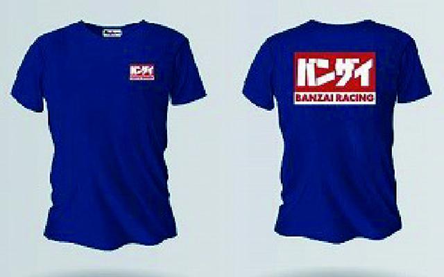 バンザイ Tシャツ (ネイビー/BRENY)