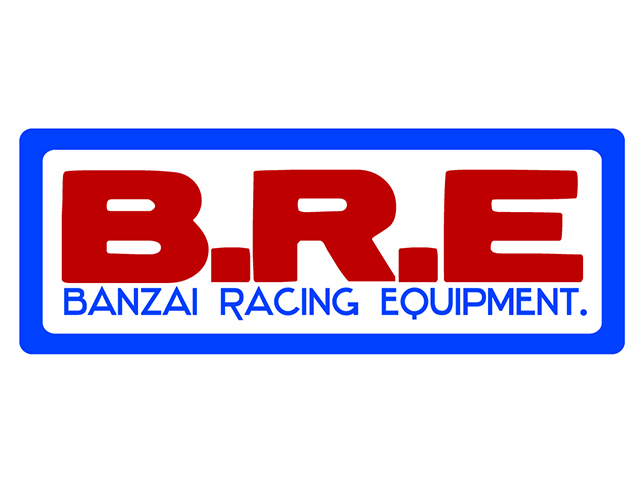 B.R.E 定番 デカール(トリコロール)
