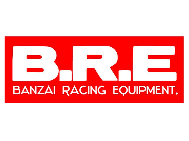B.R.E 定番 デカール(レッド)